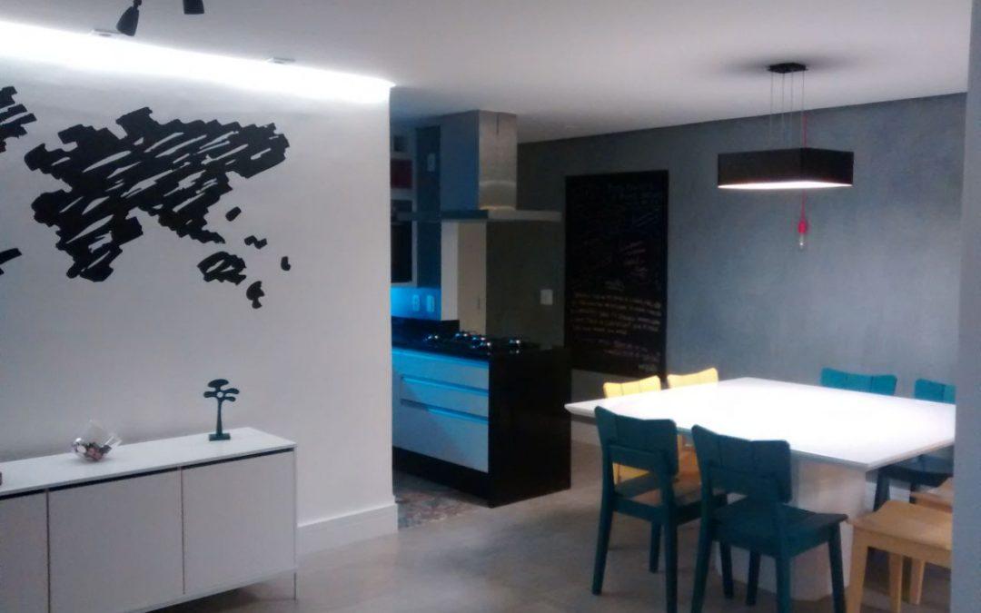 Reforma de apartamento 85m²