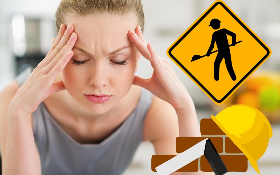Resultado de imagem para dor de cabeça na obra