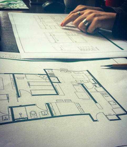 Administração de Projetos Apartamento 70m²